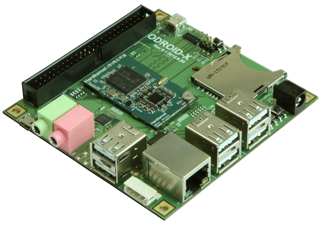 Hardkernel Odroid-X: l'alternativa asiatica al Raspberry Pi