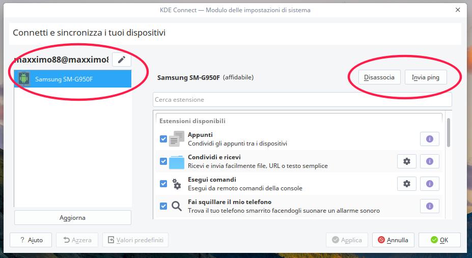 KDE Connect su Debian e derivate (Deepin)! - Caroblog it